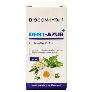 Biocom Dent-Azur+ íny és szájápoló oldat – 20ml