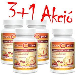 Novo C Plus liposzómás C-vitamin 3+1 akció - 4x30db