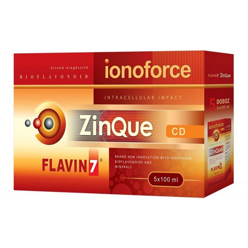 Flavin7 ZinQue Ionoforce - 5x100ml