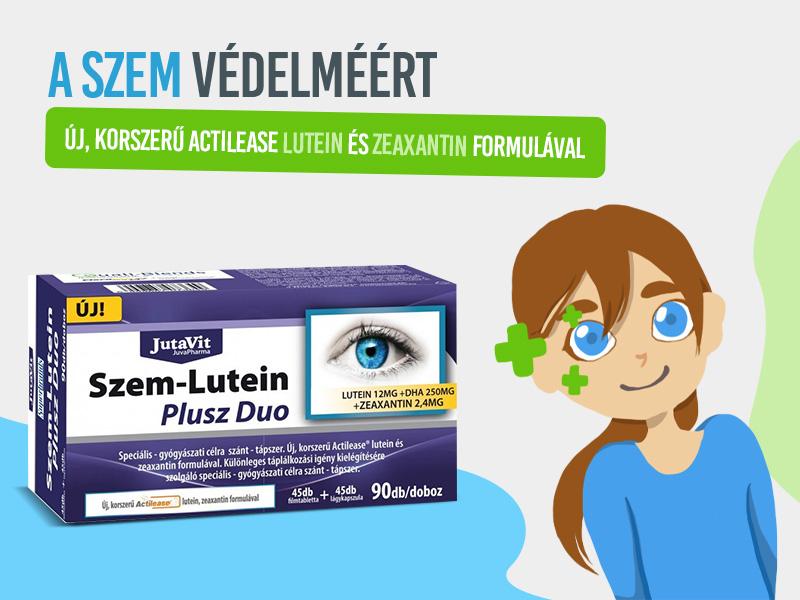 Védje szemei egészségét a JutaVit Szem-Lutein Plusz tablettával!