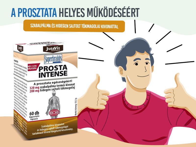 Győzze le a prosztataproblémákat a Jutavit Prosta Intense kapszulával!