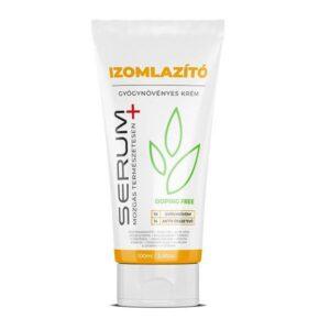 Serum+ Izomlazító gyógynövényes krém - 100ml