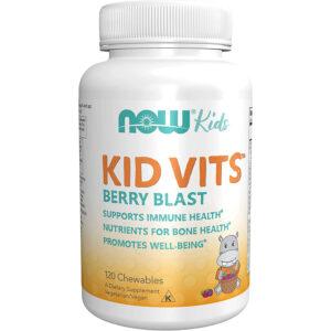 Now Kid Vits Multivitamin málnás - 120db