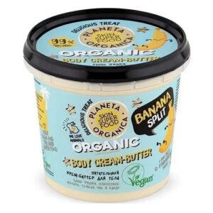 Planeta Organica Skin Super Good Természetes Banánhajó krémes testvaj - 360ml