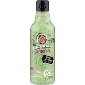 Planeta Organica Skin Super Good természetes tusfürdő bio uborkával és bazsalikommal - 250ml