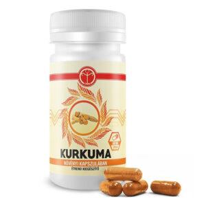 Tenmag Kurkuma növényi kapszulában - 60db