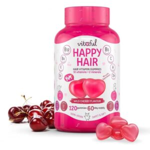 Vitaful Happy Hair hajvitamin gumivitamin – 120db