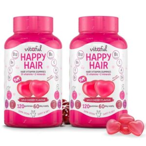 Vitaful Happy Hair hajvitamin gumivitamin DUOPACK - 2x120db