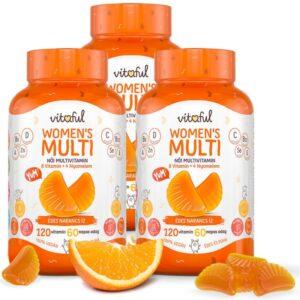 Vitaful Women's Multi gumivitamin nőknek TRIPLA PACK - 3x120db