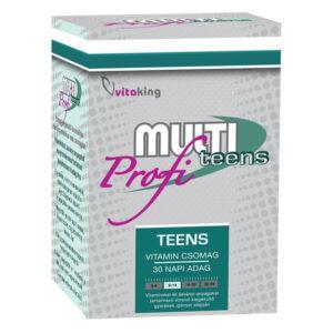 Vitaking Multi Teens Profi vitamin csomag - 30db