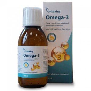 Vitaking Omega-3 citrom ízű csepp - 150ml