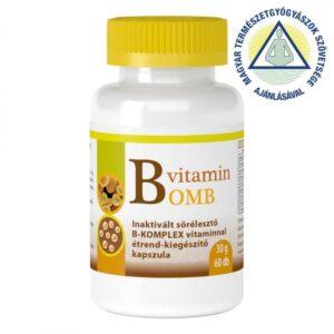 Viva Natura B-Bomb B-vitamin komplex kapszula – 60db