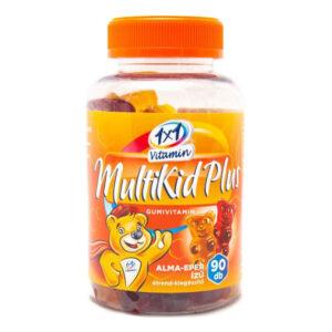 1x1 Vitamin Multikid Plus gumivitamin alma-eper ízű - 90db
