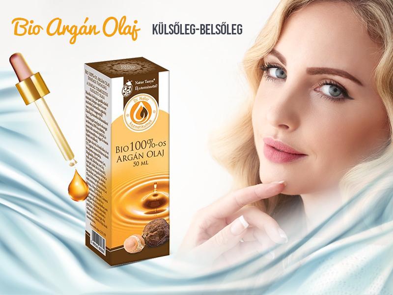 Élvezze ki a Natur Tanya BIO 100%-os Argán olaj mesés hatásait belsőleg és külsőleg is!