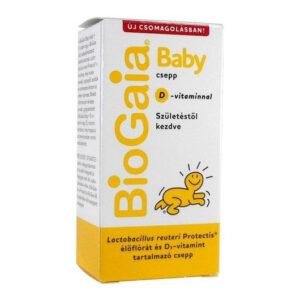 BioGaia Baby étrendkiegészítő csepp + D3-vitamin - 5ml