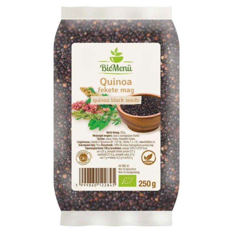 Biomenü Bio Quinoa fekete mag - 250g