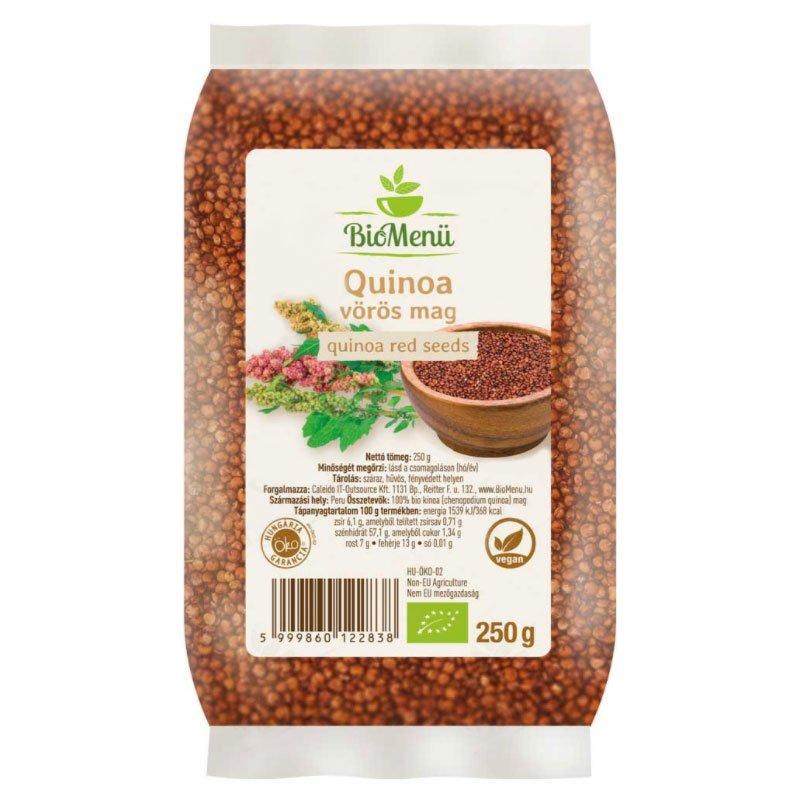 Biomenü Bio Quinoa vörös mag - 250g