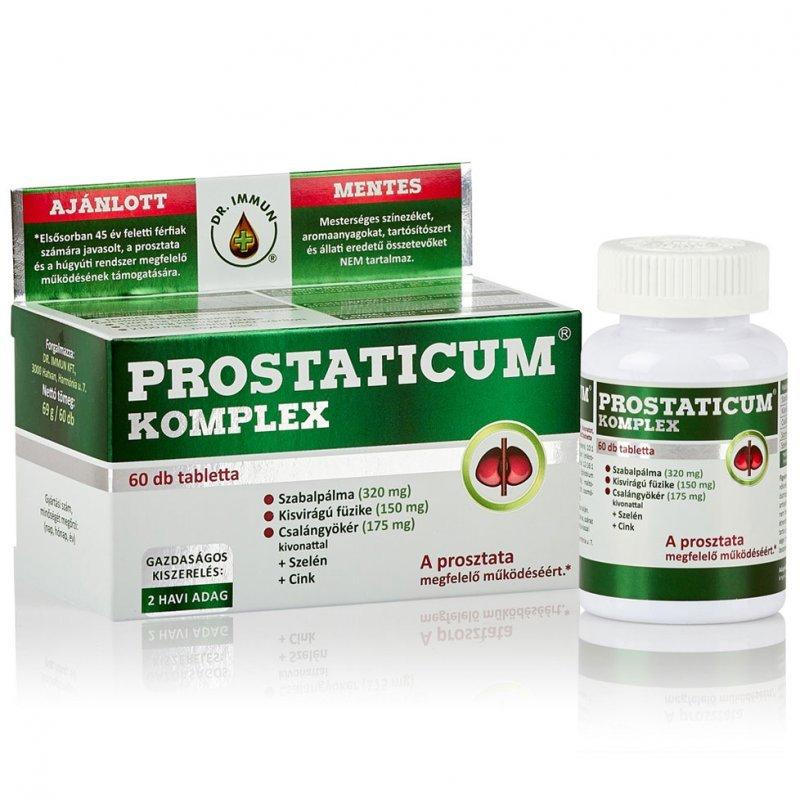 Dr. Immun Prostaticum komplex tabletta - 60db