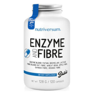 Nutriversum BASIC Enzyme and Fibre kapszula - 120db