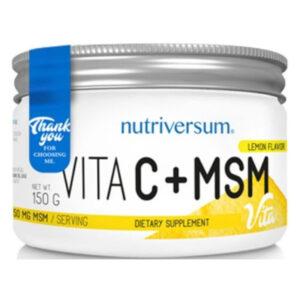 Nutriversum Vita C+MSM por - 150g
