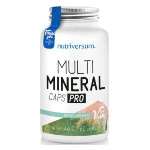Nutriversum Multimineral Caps Pro kapszula - 60db