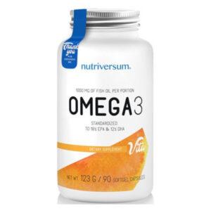 Nutriversum Omega-3 lágyzselatin kapszula - 90db