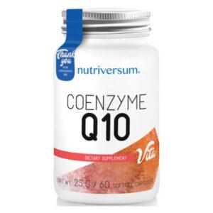 Nutriversum Coenzyme Q10 lágyzselatin kapszula - 60db