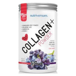 Nutriversum Wshape Collagen+ kékszőlő - 600g