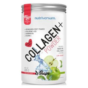 Nutriversum Wshape Collagen+ zöldalma - 600g