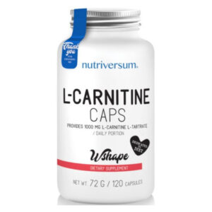 Nutriversum WSHAPE L-carnitine kapszula - 120db
