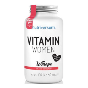 Nutriversum WSHAPE Vitamin Women tabletta - 60db