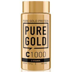 Pure Gold C-Vitamin 1000mg kapszula - 100db