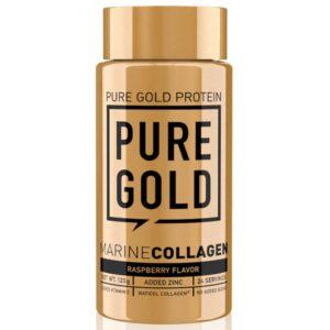 Pure Gold Hal kollagén málnás italpor - 120g