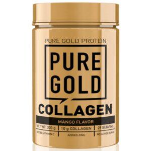 Pure Gold Collagen Marha kollagén italpor mangó - 300g