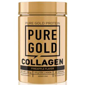 Pure Gold Collagen Marha kollagén italpor ananász - 300g