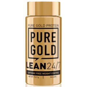 Pure Gold LEAN 24/7 stimuláns mentes testsúlykontroll kapszula - 90db
