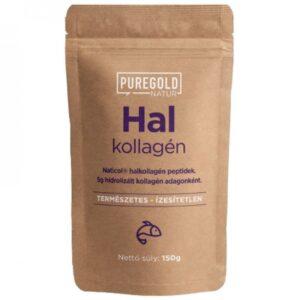 Pure Gold Natur Line Hal kollagén italpor ízesítetlen - 150g