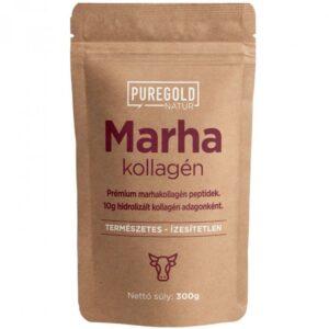 Pure Gold Natur Line Marha kollagén italpor ízesítetlen - 300g