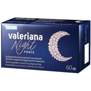Valeriana Night Forte kapszula - 60db