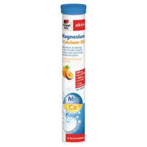 Doppelherz Magnézium + Kálcium + D3-vitamin pezsgőtabletta - 15db
