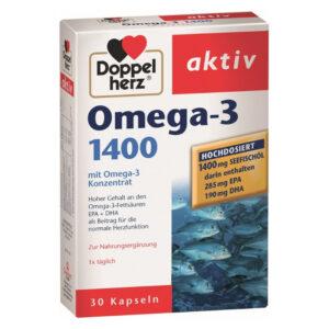 Doppelherz Omega-3 1400 kapszula - 30db