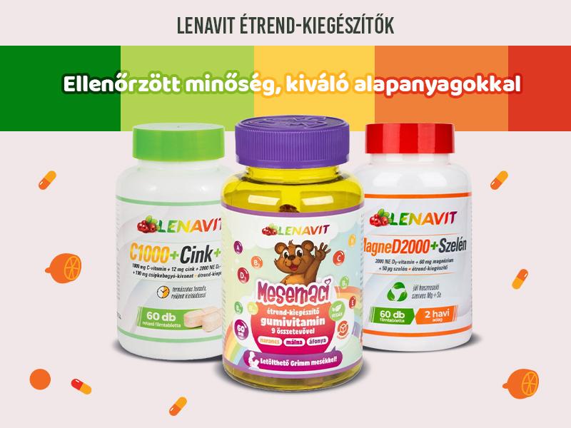 Lássa el az egész családot létfontosságú tápanyagokkal a Lenavit segítségével!