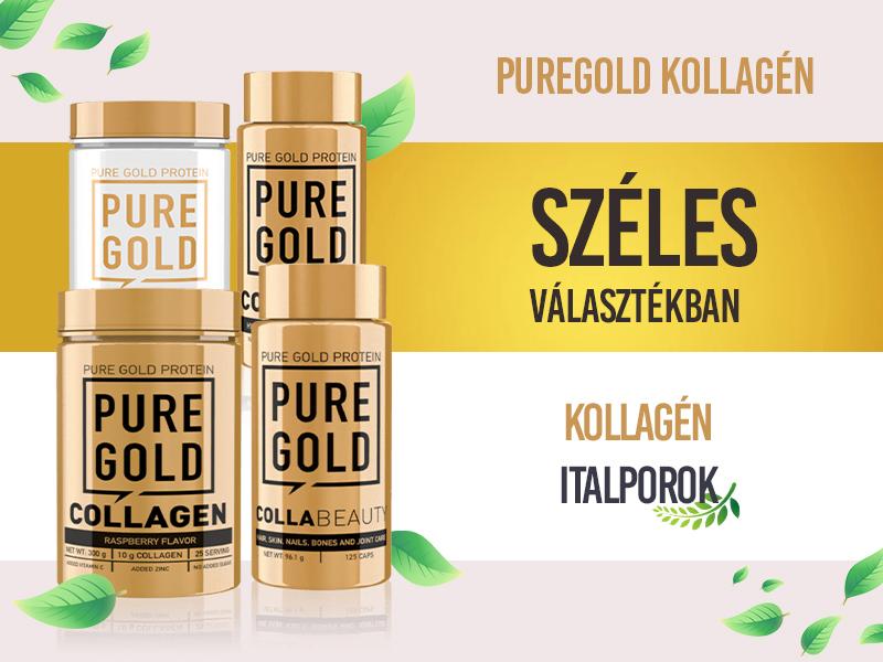 Lépjen fel az öregedés ellen a Pure Gold Collagen készítményekkel!