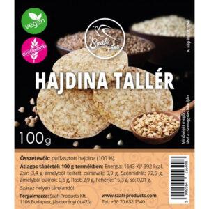 Szafi Free Hajdina tallér gluténmentes - 100g