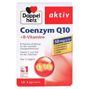 Doppelherz Coenzym Q10 + B-vitamin kapszula - 30db
