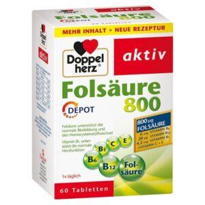 Doppelherz Folsav 800 tabletta - 60db