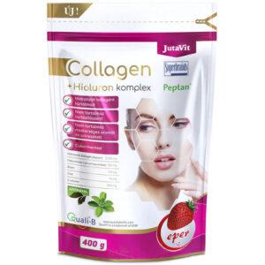 JutaVit Collagen Komplex eper ízű kollagén italpor - 400g