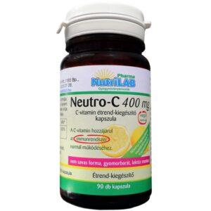 Nutrilab Neutro-C Vitamin 400mg kapszula - 90db