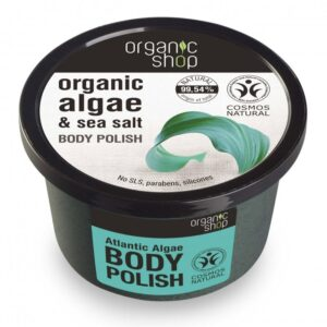 Organic Shop ''Atlanti alga'' testpolír - 250ml