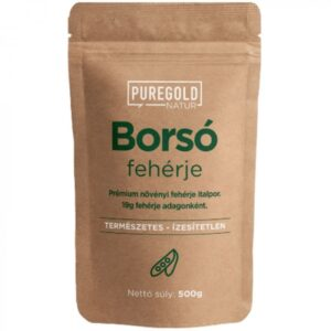 Pure Gold Borsó Protein natúr italpor - 500g